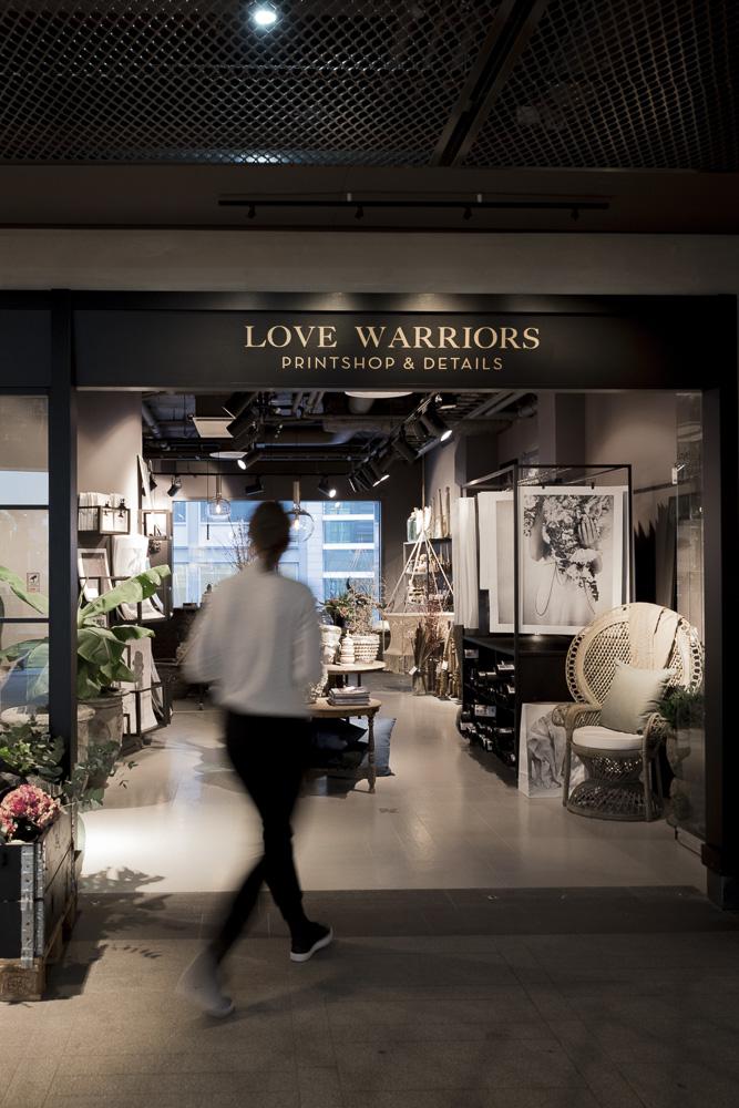 Love Warriors Concept Store, Love Warriors butik,
