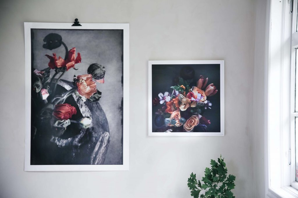 Flora Flower Prints by Love Warriors