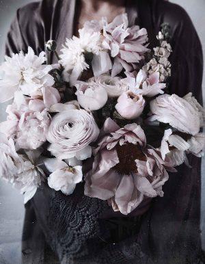 Bohemian Rhapsody Armful Of Flowers Print