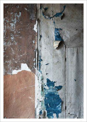 Old wallpaper poster from Bogesund castle.