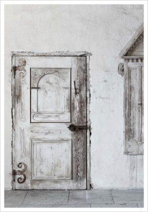 white old doors white door